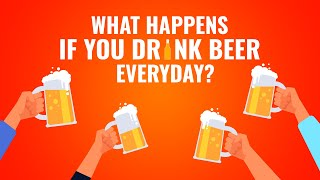 What Happens If you drink beer every day? || Is It Safe? 👉 Find Out Here