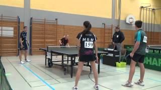 TT Bayerische Jugendm  2014 Ansbach Mixed 1Schmitt Denise   Stahr Johannes