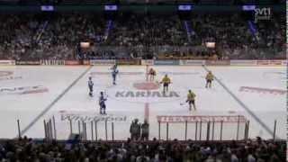 Hockey. Finland - Sweden Karjala-Tournament 2013.