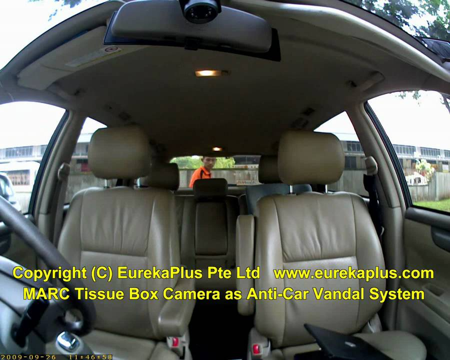Marc Tissue Box Camera Anti Car Vandal System Youtube