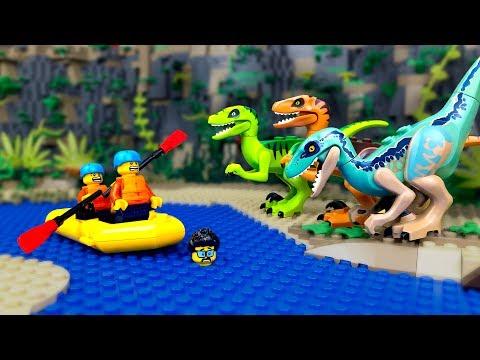 Лего динозавры мультфильм на русском