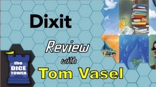 Dixit Review - with Tom Vasel