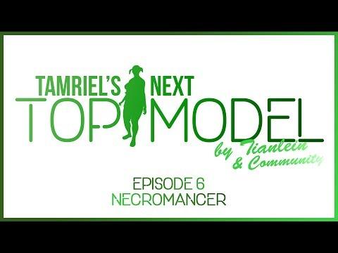 ESO: Tamriel's next Topmodel - [Episode 6] - Necromancer - Elder Scrolls Online Fashion Show