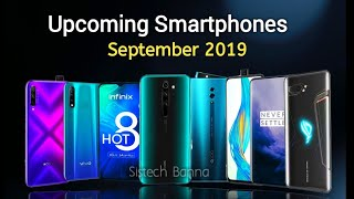 Top Upcoming Smartphone in September 2019 | Price & launch date in india🔥🔥