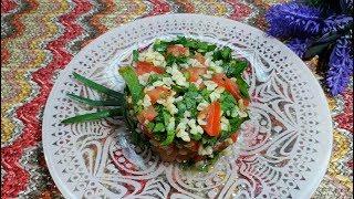 Салат Табуле / Простые и Вкусные Салаты Без Майонеза / Вкусный Низкокалорийный Салат