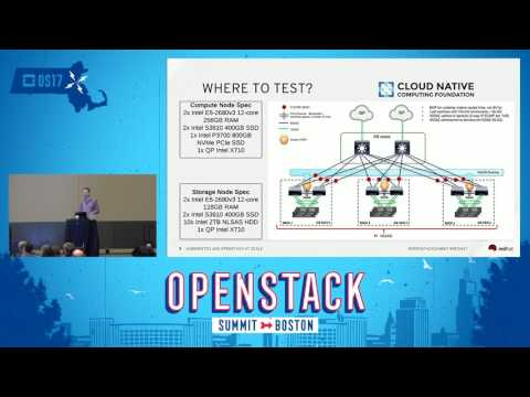 Kubernetes and OpenStack at Scale