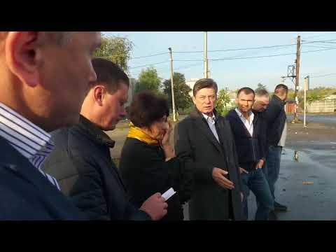 Выездное совещание коммунальных служб города Новомосковска 30.09.2019