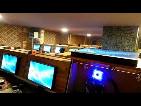 Gamepark İnternet Cafe Konya Öncesi ve Sonrası - 90 Pc Ccboot + MuRKuT