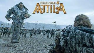 БИТВА БАСТАРДОВ В TOTAL WAR: ATTILA