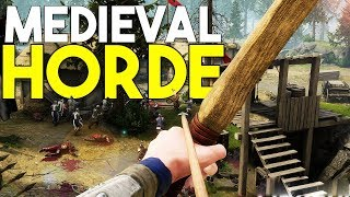 The BEST MEDIEVAL CO-OP IV'E PLAYED! - MORDHAU RELEASE!