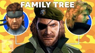 The  Metal Gear Solid Family Tree | The Leaderboard