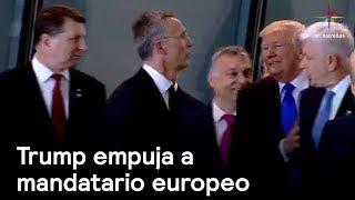 Trump empuja a mandatario europeo - Trump - En Punto con Denise Maerker thumbnail