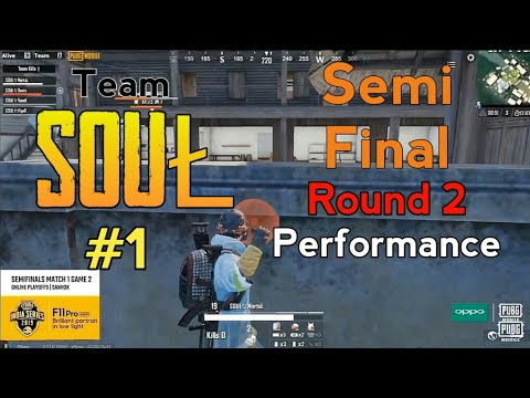 SouŁ 2nd Win At Day 1 Game 2 Semi Final | PUBG Mobile India Series 2019 | MortaL,Owais,RonaK,VipeR