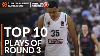 Turkish Airlines EuroLeague Regular Season Round 3 Top 10 Plays