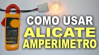 Como usar um alicate amperímetro