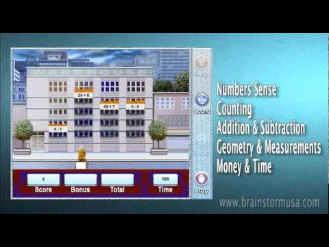 Succeed in School with K-3 Language Arts & Math Educational Software