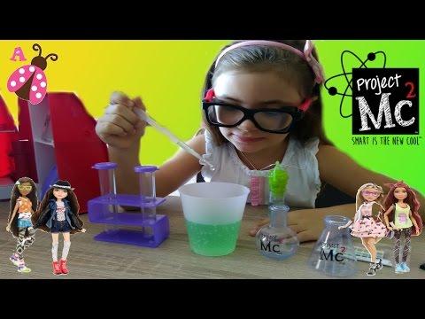 Nuevas Muñecas y Laboratorio de Project MC2