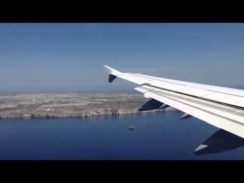 LH1276 - Overview, RARE approach and landing in Malta with Airbus A321 (D-AIDE)