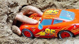 맥퀸을 도와주세요! 예준이의 전동 자동차 장난감 조립놀이 구출놀이 Mcqueen Car Toy Assembly Kids Power Wheels