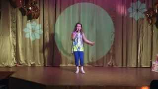 """Я вернусь"". Элина Пузанкова, 9 лет. 27 мая 2015 года."