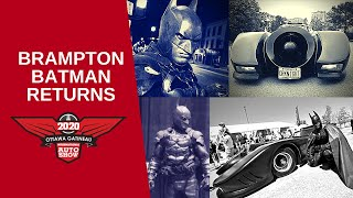 Brampton Batman Returns In His Batmobile To Ottawa Gatineau International Auto Show