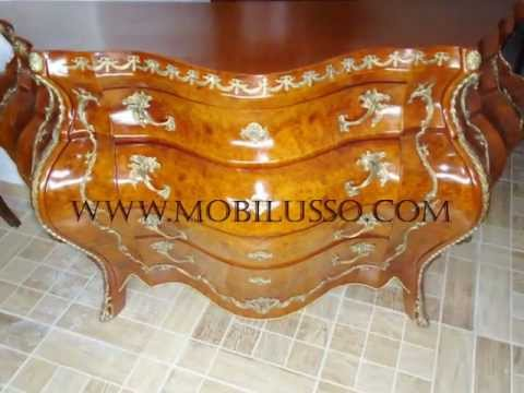 Reproduction French antique furniture - Reproduction French Antique Furniture - YouTube