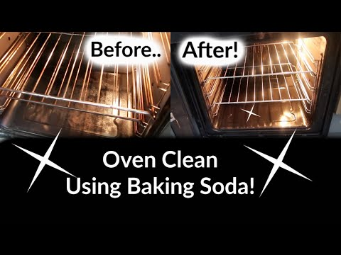HOW TO CLEAN YOUR OVEN WITH BAKING SODA & VINEGAR | CLEAN WITH ME | NATURAL CLEANING