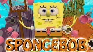Minecraft | SPONGBOB SQUAREPANTS MOD Showcase! (Bikini Bottom, Patrick, Squidward )