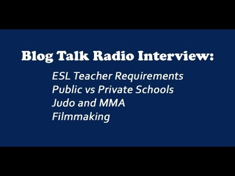 Travel Auteurs BTR Interview (ESL Requirements, Public vs Private schools, Judo & MMA, Filmmaking)