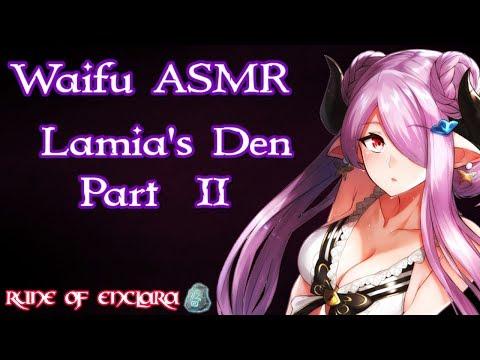 ♥ Waifu ASMR | ROLEPLAY: Lamia's Den Part II |【ROLEPLAY / ASMR】♥