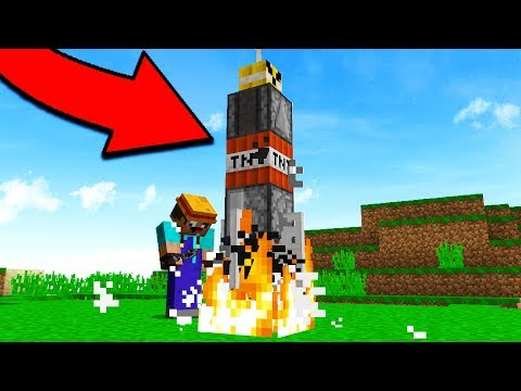 Thumbnail: LAUNCHING A NUKE IN MINECRAFT... (Minecraft Trolling)