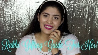 Rakhi Gift Guide For Brothers | Buy And DIY Gift Options for sisters | Rakhi Week