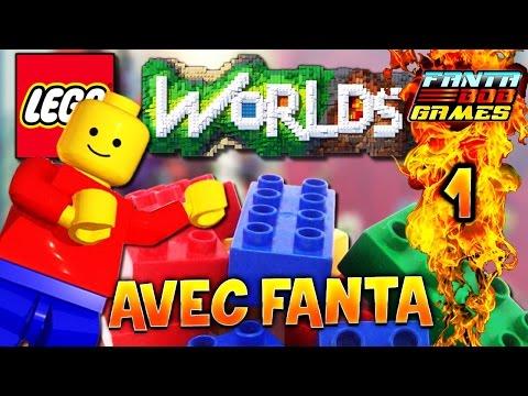 LEGO WORLDS - Ep.1 : PIRATES ! - TheFantasio974 Gameplay PC FR