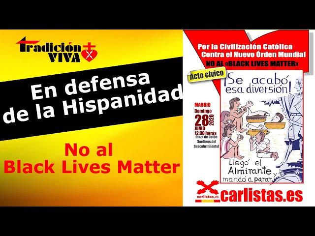 Acto cívico en defensa de LA HISPANIDAD CATÓLICA