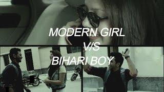 modern girl V/s Bihari boy Cast : Mohit Sharma & Aishwarya