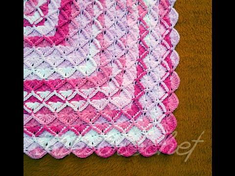 Crochet Bavarian Stitch Blanket Rectangular Doovi