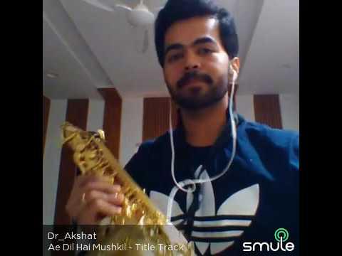 Ae Dil hai mushkil-Saxophone instrumental cover thumbnail
