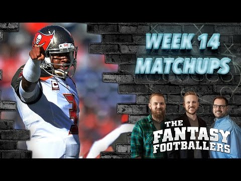 Fantasy Football 2016 - Week 14 Matchups, In-or-Out, Playoff Time! - Ep. #324
