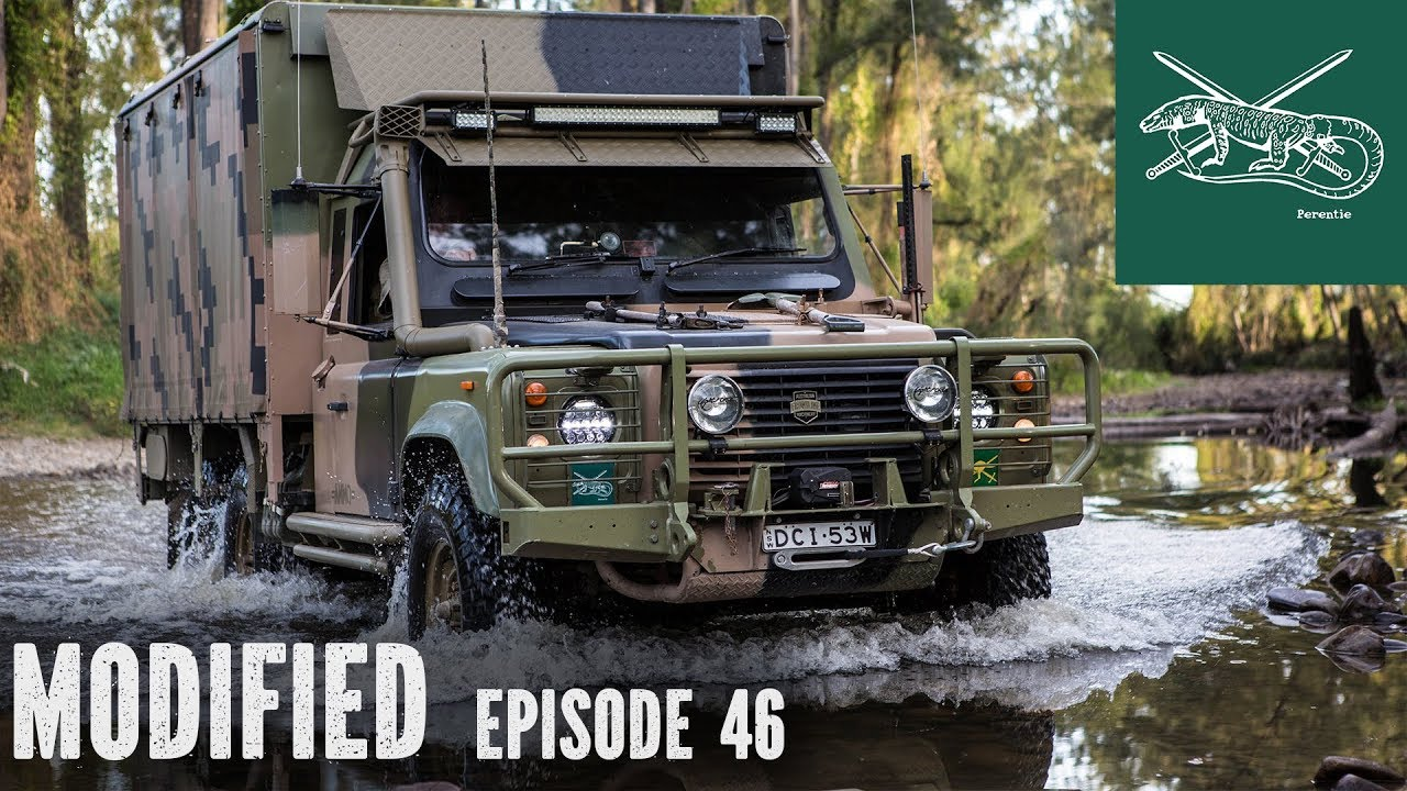 Land Rover Defender 110 For Sale >> 6x6 Land Rover Perentie, Modified episode 46 - YouTube