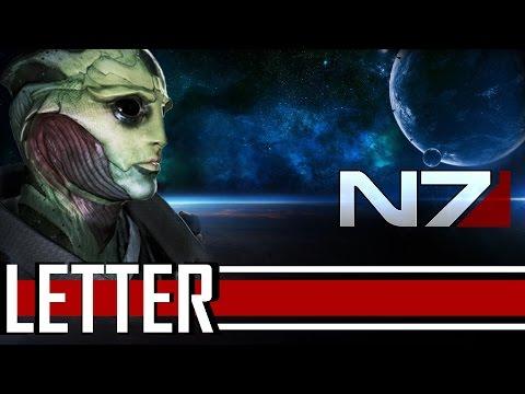 Mass Effect 3 - A Letter (Thane & FemShep Tribute)