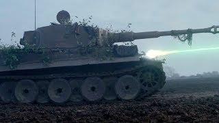 """Бой против немецкого танка - """"Ярость"""" отрывок из фильма"""