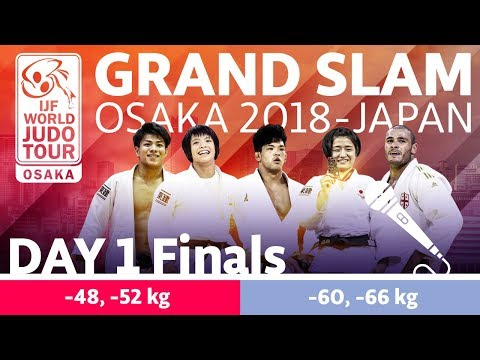 Judo Grand-Slam Osaka 2018: Day 1 - Final Block