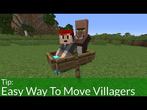 Easiest Way to Move Villagers in Minecraft