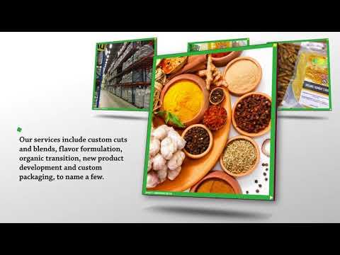 High Quality Organics | Wholesale Organic Ingredients in North America
