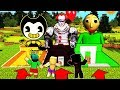 Minecraft - DO NOT Choose the Wrong Secret Base - BALDI, BENDY & PENNYWISE!