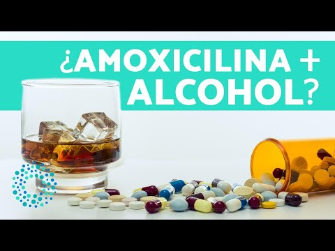 se puede tomar alcohol con antibioticos amoxicilina
