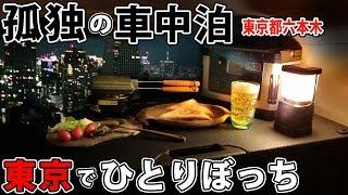 【孤独の車中泊】サラリーマン、東京でひとりぼっち【僕は透明人間】