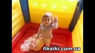 Детский надувной батут Intex