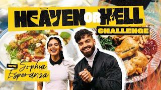 HEAVEN OR HELL COOKING CHALLENGE  with Sophia Esperanza