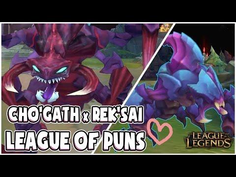 Cho'Gath Chats Up Rek'Sai | League of Puns #1